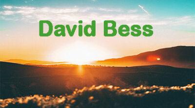 Pastor David Bess